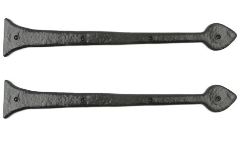 "19"" Aspen Decorative Hinge Fronts (Pair)"