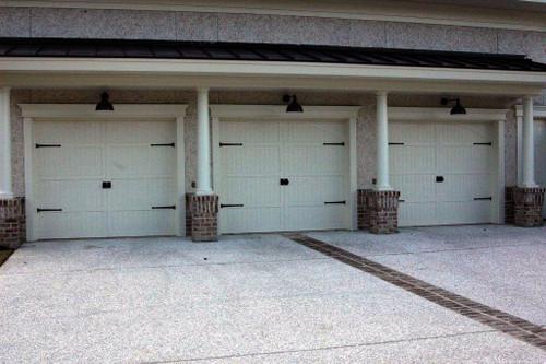 Garage Door Kit >> Colonial Cape Cod Decorative Garage Door Kit