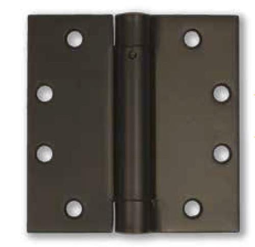 "4.5"" Stainless Steel Self-Closing Spring Hinge (Pair) - PVD Dark Bronze Finish"
