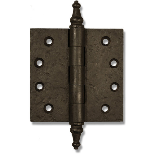 "Dark Bronze 4"" Steeple Tip Heavy Duty Hinges (Sold as Each)"