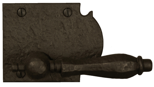 Dark Bronze Ornate Lever Latch Dummy Handle