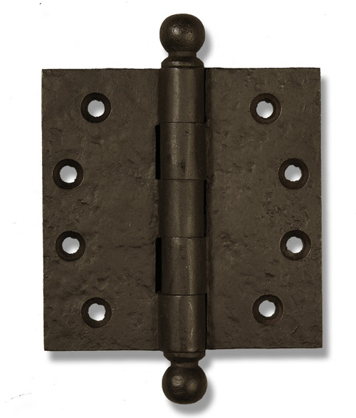 "Dark Bronze 4"" Ball Tip Heavy Duty Hinges (Sold as Each)"