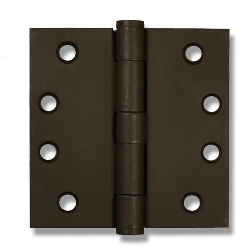 "Dark Bronze 4"" Button Tip Heavy Duty Template Hinge (Sold as Ea)"