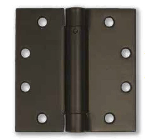 "4"" Stainless Steel Self-Closing Spring Hinge (Pair) - PVD Dark Bronze Finish"