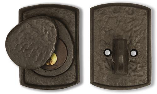 Dark Bronze Arch Deadbolt