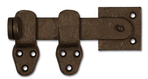 "Dark Bronze Lockable 5"" Flip Latch 50-420"