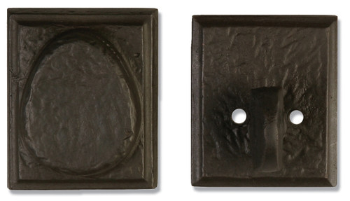 "2-1/2"" Dark Bronze Deadbolt"