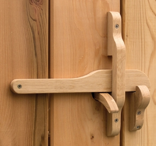 """Rustic Wooden Gate Latch - """"The Oxford"""""""