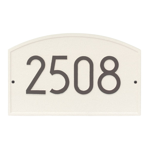Legacy Modern Personalized Wall Plaque - Coastal Clay