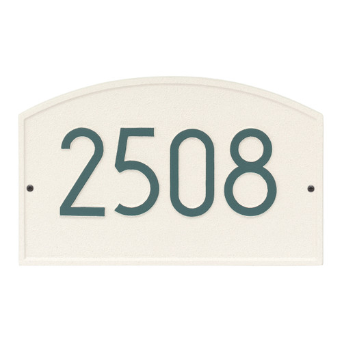 Legacy Modern Personalized Wall Plaque - Coastal Green