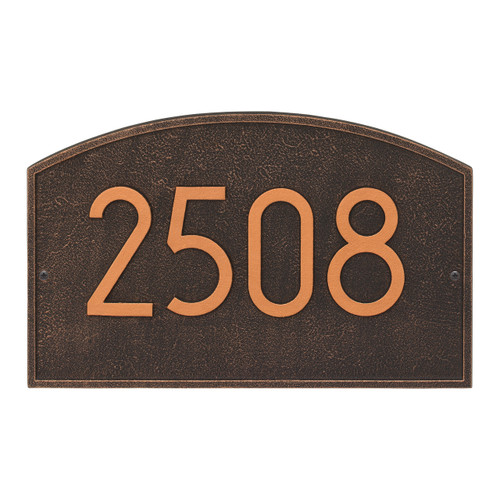 Legacy Modern Personalized Wall Plaque - Oil Rubbed Bronze