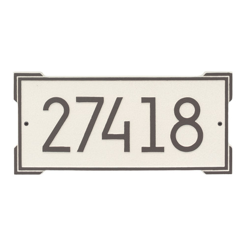 Roanoke Modern Personalized Wall Plaque - Coastal Clay