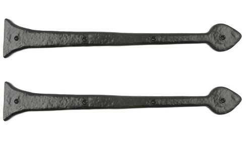 "25"" Aspen Decorative Hinge Fronts (Pair )"