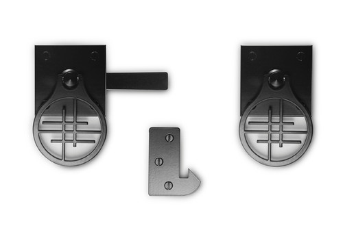 Asian Inspired Design Gate Hardware Package for Double Gates