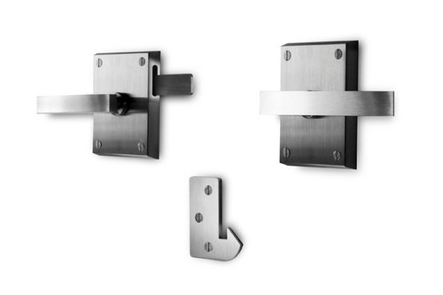 Alta Stainless Steel Contemporary Modern Gate Latch