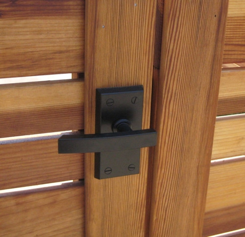 Nero Contemporary Lever Gate Latch (Build Your Own Package)