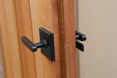 Oval Contemporary Lever Gate Latch (Build Your Own Package)