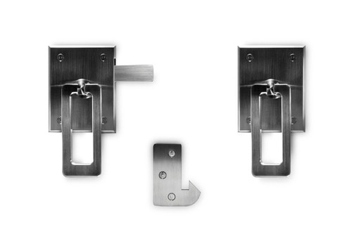 Elise Modern Stainless Steel Ring Gate Latch (Build Your Own Package)