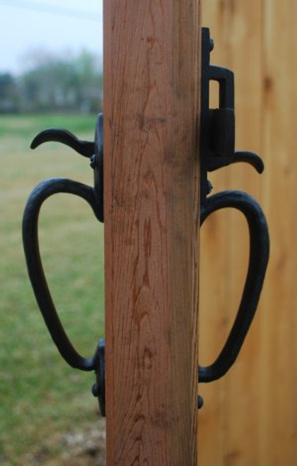 Dark Bronze Two-Sided Thumb Latch (Build Your Own Package)