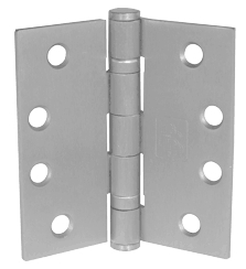 Satin Door Hinges FIRE RATED 4''x 3'' Ball Bearing CE13 Grade Stainless Steel