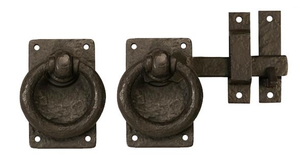 Bronze Ring Gate Latch Rustic 60-101