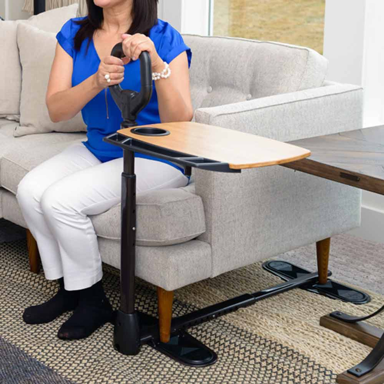 Couch Swivel Tray with Cane CSACT1 Stand Assist