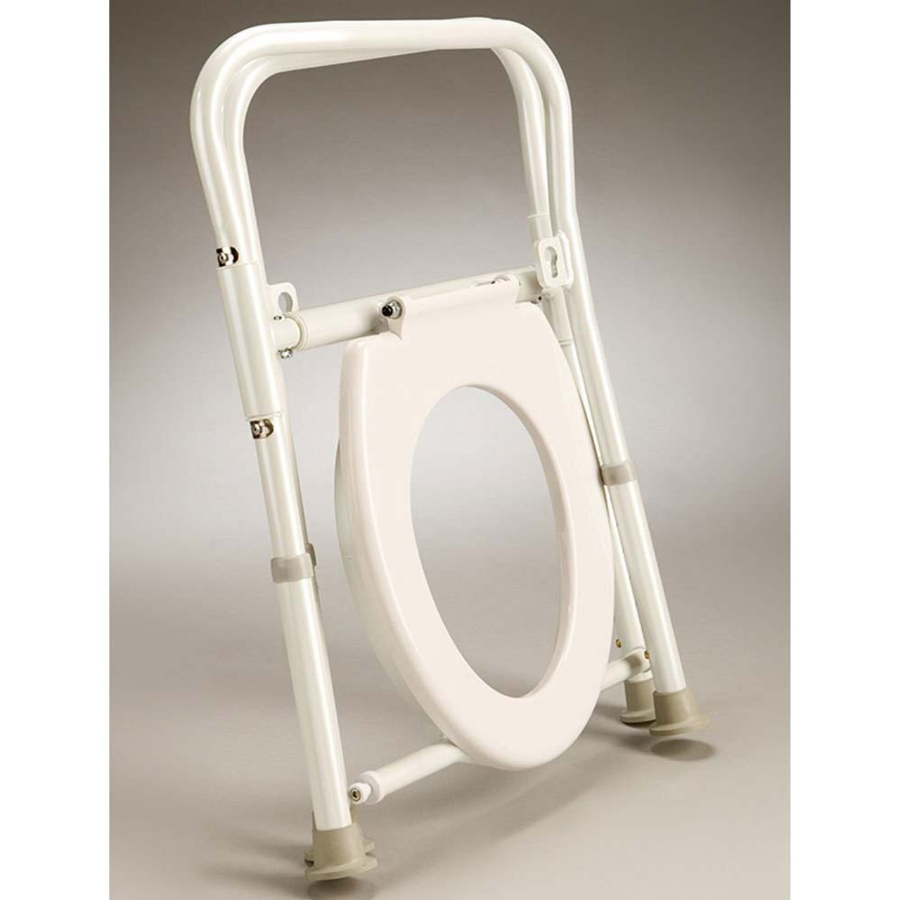 Folding Over Toilet Aid AJ0060 Folded
