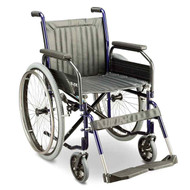 Manual Stainless Wheelchair 100kg Capacity Glide Series 1