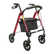 Height Adjustable Mobility Walker PA332 Red