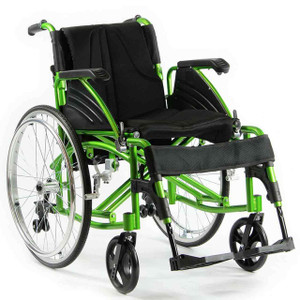 Lightweight Folding Wheelchair 130kg Capacity Concorde NC0700