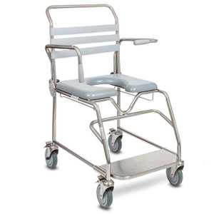 Bariatric Mobile Shower Commode