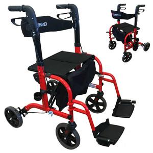 Rollator Walker Wheelchair Duo