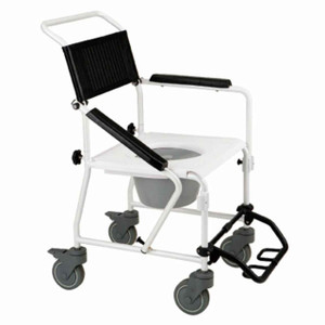 Wheeled Shower & Toilet Commode RG8923
