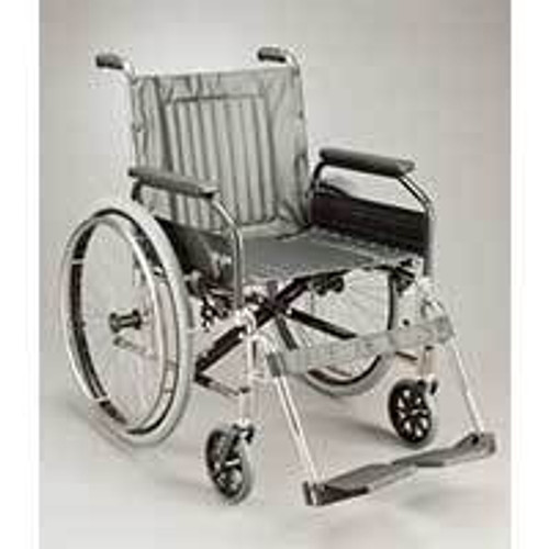 MANUAL STAINLESS WHEELCHAIR 100KG CAPACITY GLIDE SERIES 3 thumb