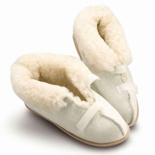 Closed Toe Sheepskin Slippers MD0290