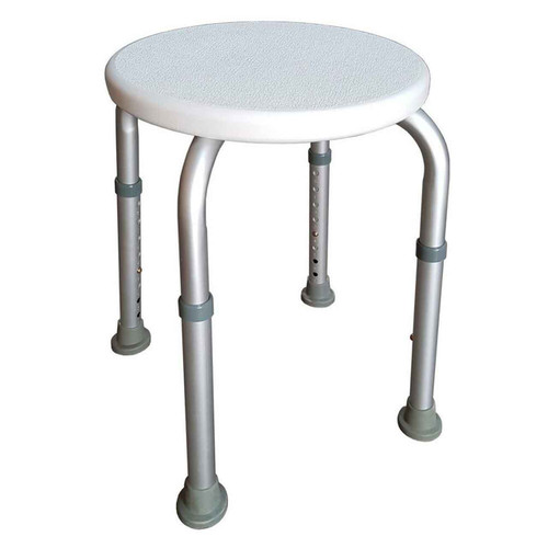 Round Aluminium Shower Stool SSRAL1