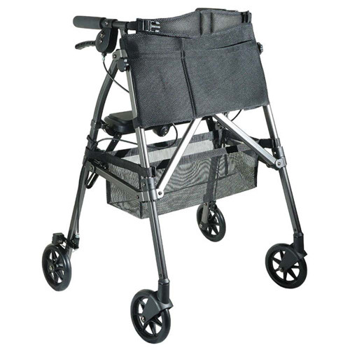 Portable Folding Mobility Walker MWPFL1  Open Black