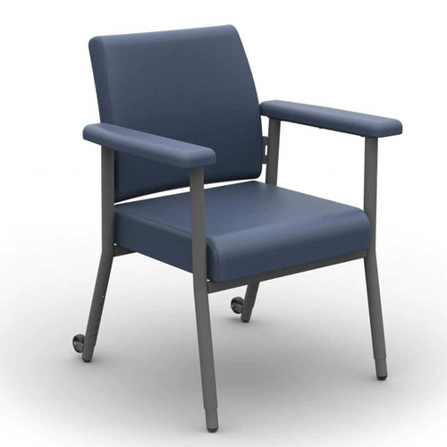 Katie Low Back Chair 200kg Capacity Blue