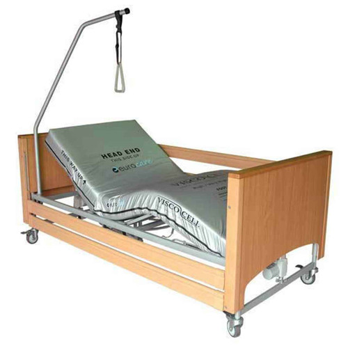 Electric Hospital Bed AJM Viscount Knee Break