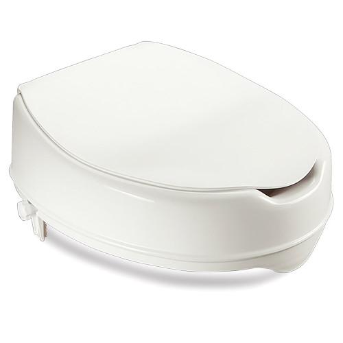 Toilet Seat Raiser - Savanah Deluxe - B1107L Lid