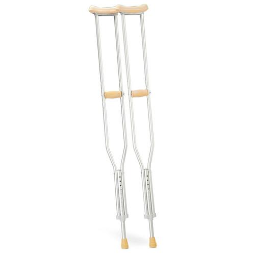 Crutches (pair) Under Arm Aluminium AJM 350M