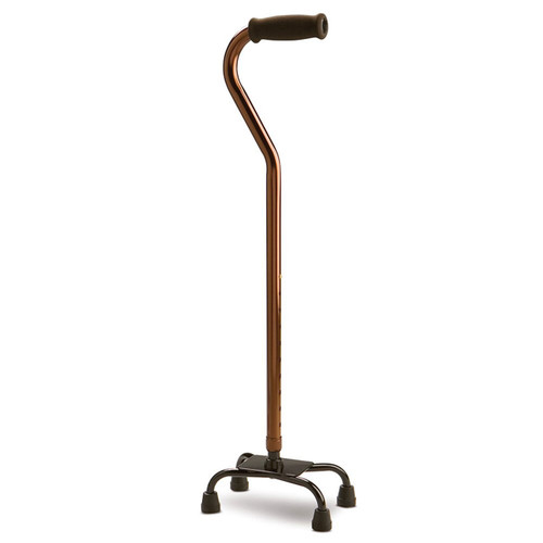Walking Stick Quad Foot Low Base 972