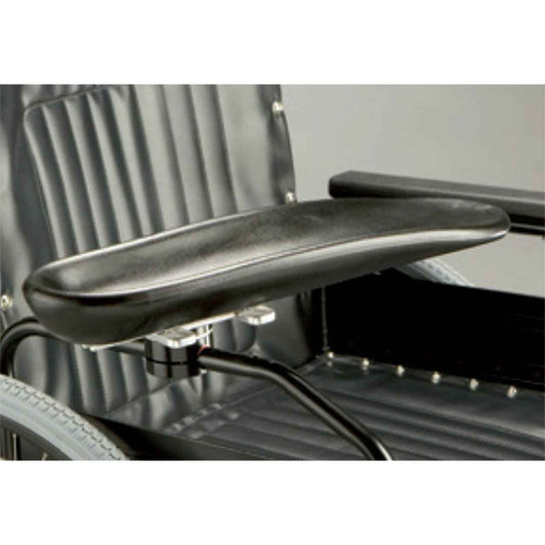 Armrest trough swivel right