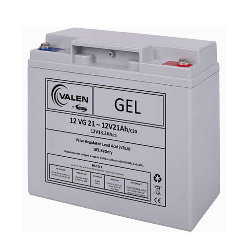 Gel Battery Valen 12v 21ah