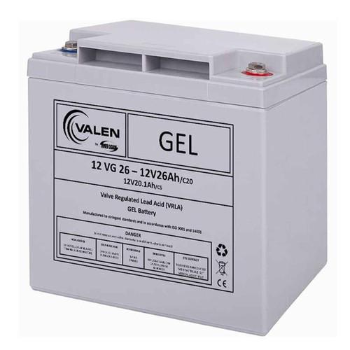 Gel Battery Valen 12v 26ah