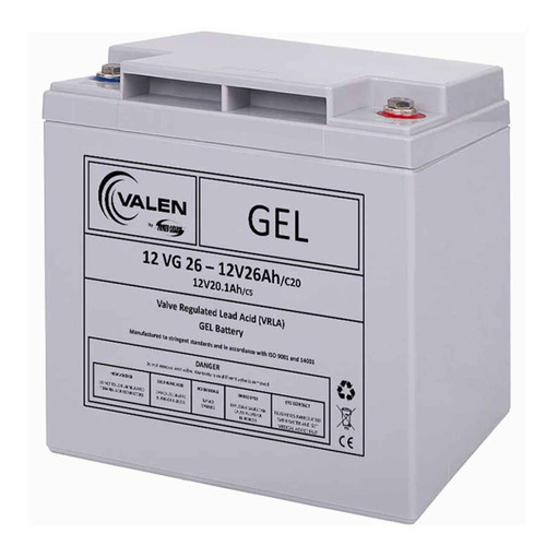 Gel Battery Valen 12v 26ah