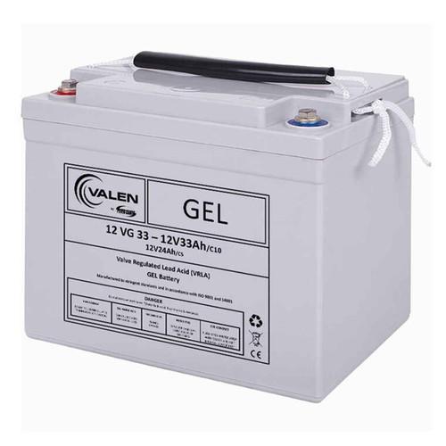 Gel Battery Valen 12v 33ah