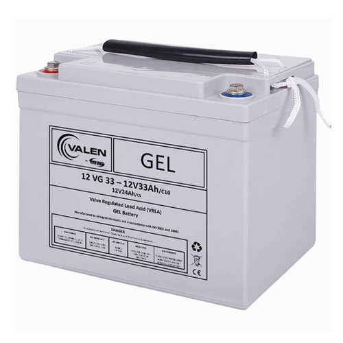 Gel Battery Valen 12v 33ah
