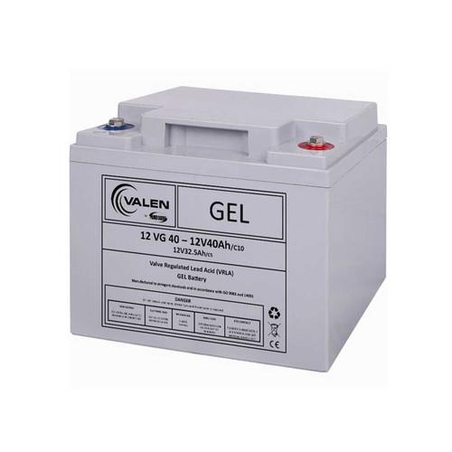 Gel Battery Valen 12v 40ah