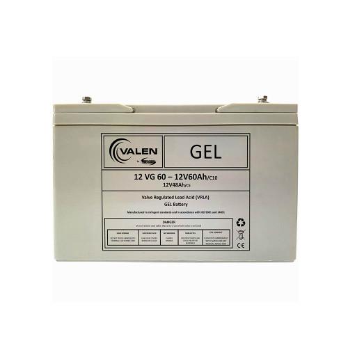 Gel Battery Valen 12v 60ah